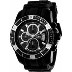 腕時計 インヴィクタ インビクタ メンズ Invicta Men's Pro Diver Chrono 100m Black-Tone S. Steel Polyurethane Watch 2243
