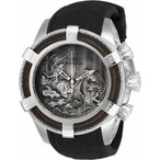 腕時計 インヴィクタ インビクタ メンズ Invicta Men's Bolt Quartz Chrono 200m Stainless Steel/Black Silicone Watch 25359