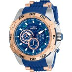 腕時計 インヴィクタ インビクタ メンズ Invicta Men's Speedway Quartz 100m Stainless Steel/Blue Silicone Watch 27255
