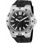 腕時計 インヴィクタ インビクタ メンズ Invicta Men's Pro Diver Quartz 100m Stainless Steel/Black Silicone Watch 28815
