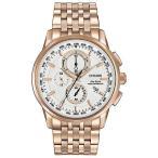 腕時計 シチズン メンズ Citizen Eco-Drive Men AT8113-55A World Chronograph A-T Perpetual Calendar Watch
