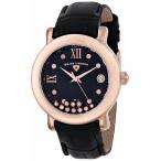腕時計 スイスレジェンド レディース Swiss Legend Women's Diamond Quartz Watch Rose Gold Leather Strap 22388-RG-01