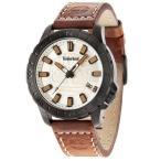 腕時計 ティンバーランド メンズ Timberland Men's WAYLAND Quartz Watch Brown Genuine Leather Strap 14647JSB/07