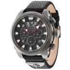 腕時計 ポリス メンズ Police Men's Quartz Watch with Black Dial Chronograph Display 14473JSQS/02