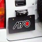 [APIO] アピオ ジムニー [JB23/JB33/JB43] スペアタイヤ移動ブラケット装着車用ナンバープレート移動キット