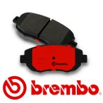 brembo ブレンボ レッドパッド フロント アルファロメオ ジュリエッタ 1.4 TURBO 94014 940141 11/11〜 キャリパーBREMBO製 ※代引き不可
