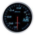 [Defi] デフィ Defi-Link Meter ADVANCE BF  インマニ計/プレッシャー計 60φ 青ブルー インマニプレスメーター