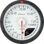 [Defi] デフィ Defi-Link Meter ADVANCE CR ターボ計/ブースト計 60φ 白 1.2K ブーストメーター