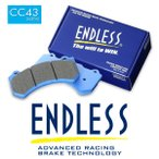 エンドレス APレーシング製 レーシングキャリパー用 ブレーキパッド CC43 (N35S) CC2279/3215/5200キャリパー用 ピストン数 4