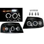 送込 フォード エクスペディション 03-06y 日本光軸仕様 インナーブラック LEDイカリング プロジェクター ヘッドライト 左右 アンバーref