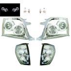送込 ランクル プラド 90/95 LEDヘッドランプ&コーナーランプSET