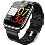 スマートウォッチ スマートR Q58  ウエアラブル カラー液晶 心拍 血圧 歩数 距離 カロリー 座りリマインダー iPhone androin アンドロイド SNS LINE ライン