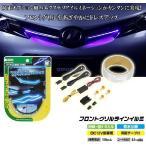 エーモン工業 フロントグリルライン LED イルミ(青) No.2928