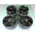 HJ PORTO & ERGLANZ 235/40-18 ボルボV50,S40,S60,V60,V70,C30用 ブラック タイヤ&ホイール4本セット