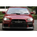 MITSUBISHI LANCER EVOLUTION X EVO X  2014 Ver.Ultimate LED CCFL HID ANGEL EYE ヘッドライト