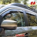 WeatherTech正規品 日産 ダットサントラック D22型に適合 4枚ドア車両向け ウェザーテック製 ウィンドウディフレクター (サイドドアバイザー)