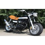 ICEBEAR 二輪バイク 125cc 黒ベース白ライン HL125ABW