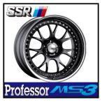 【1本価格】SSR Professor MS3 19×12.5J 5H-100 FLAT BLACK