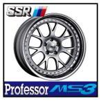 【1本価格】SSR Professor MS3 19×7.5J 5H-114 SILVER
