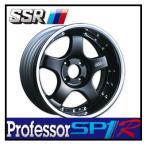 【1本価格】SSR Professor SP1R 15×6J 4H-100 BLACK