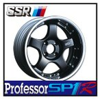 【1本価格】SSR Professor SP1R 16×10J 5H-100 BLACK