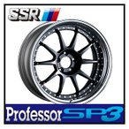 【1本価格】SSR Professor SP3 18×8J 5H-100 FLAT BLACK