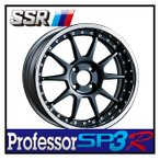 【1本価格】SSR Professor SP3R 16×6.0J 4H-100 FLAT BLACK