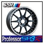 【1本価格】SSR Professor SP3R 17×12J 5H-114 FLAT BLACK
