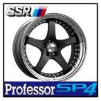【1本価格】SSR Professor SP4 19×11J 5H-100 FLAT BLACK