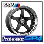【1本価格】SSR Professor SP4 19×7J 5H-100 FLAT BLACK