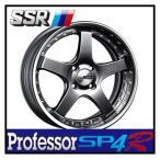 【1本価格】SSR Professor SP4R 16×5.5J 4H-100 TITAN SILVER