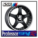 【1本価格】SSR Professor SP4R 17×9J 5H-100 FLAT BLACK