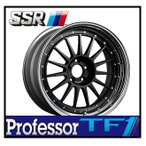 【1本価格】SSR Professor TF1 19×7.5J 5H-114 FLAT BLACK