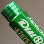 IDEAL レーシングナット 4本1セット Lサイズ:90mm M12/P1.25 カラー:グリーン