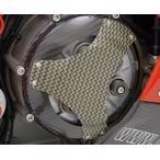 マジカルレーシング ドゥカティ車 用 乾式クラッチ車対応乾式クラッチ用カバー タイプ3 カーボン(ウェット) 綾織りカーボン製