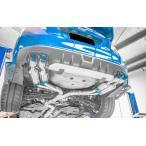 [期間限定!ポイント3倍!] ロェン WRX STI VAB PREMIUM01TR HEAT BLUE TITAN RACING-SPEC 4本出しマフラー 可変バルブ付