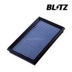 BLITZ サスパワーエアフィルターLM コルトラリーアート Z27AG 06/05〜 4G15 MIVEC SM-54B