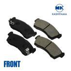 MKカシヤマ ブレーキパッド[フロント左右セット] Be-1/パオ/フィガロ【型式:BK10/PK10/FK10 年式:87/01〜92/01】