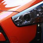 ヘッドライトカバー ライトスモーク コペン LA400K Robe X-PLAY共通 テイクオフ HLC0081