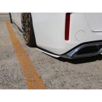 【80/85 ヴォクシー   シックスセンス】 ヴォクシー 80 V/X リアサイドフラップ メーカー塗分け塗装(艶あり黒)