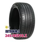 サマータイヤ モモ OUTRUN M-3 245/45R18 100Y