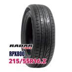 サマータイヤ レーダー RPX800 215/55R16 97W