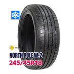 ショッピングスタッドレスタイヤ スタッドレスタイヤ MOMO Tires NORTH POLE W-2 245/45R18 100V XL