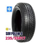 ショッピングスタッドレスタイヤ スタッドレスタイヤ MOMO Tires SUV POLE W-4 235/55R17 103H XL