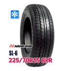 スタッドレスタイヤ 225/70R15 8PR 112/110R NANKANG SL-6