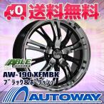 【4枚セット】AW-190 18x7.5 +45 100x5 XFMBK