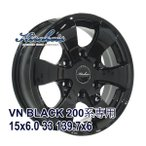 【4枚セット】KIRCHEIS VN 15x6.0 +33 139.7x6 BLACK
