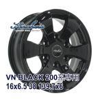 【4枚セット】KIRCHEIS VN 16x6.5 +38 139.7x6 BLACK