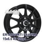 【4枚セット】Advanti ER-ADVANTI FALTIMA 15x6.0 +43 100x4 MB
