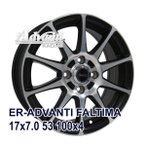【4枚セット】Advanti ER-ADVANTI FALTIMA 17x7.0 +53 100x4 MBP